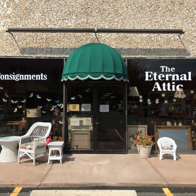 Buying At the Eternal Attic in Charlottesville