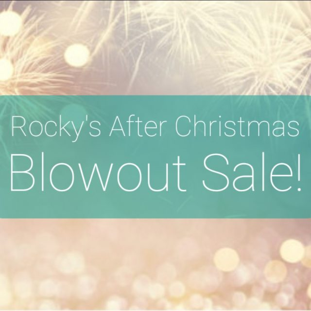 After Christmas Blowout Sale!