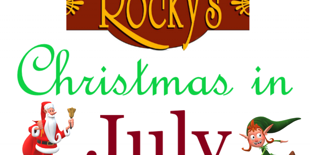 Christmas In July Sale 2019